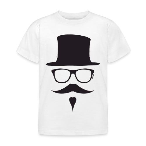 Moustachu Black (H) - T-shirt Enfant