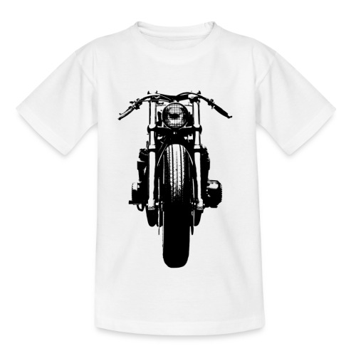 Motorcycle Front - Kids' T-Shirt