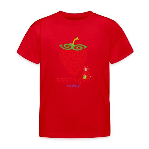 DOUSIG FRAISE - T-shirt Enfant