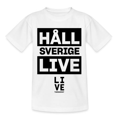 Håll Sverige Live by LIVE Takeaway - T-shirt barn