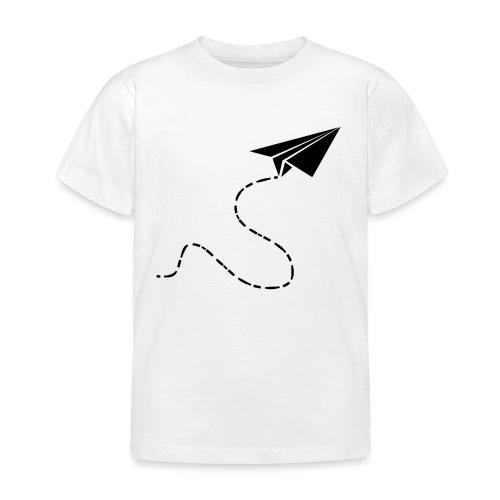 Avión de papel - Camiseta niño