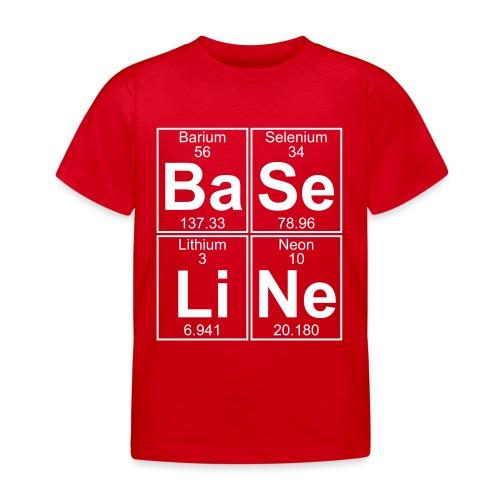 Ba-Se-Li-Ne (baseline) - Full - Kids' T-Shirt
