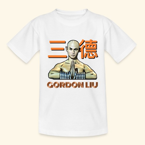 Gordon Liu - San Te Monk (Official) 6 prikker - Børne-T-shirt