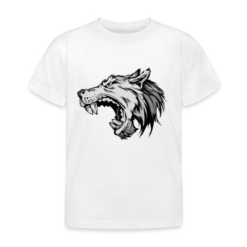 wolves logo 4 - Kids' T-Shirt