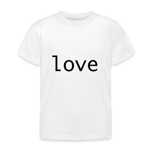 love - T-shirt barn