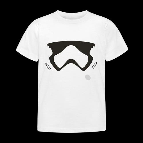 Modern Stormtrooper Face - Kids' T-Shirt