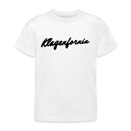 klagenfornia classic - Kinder T-Shirt