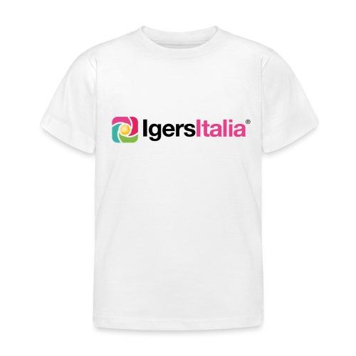 IgersItalia - Colori - Maglietta per bambini