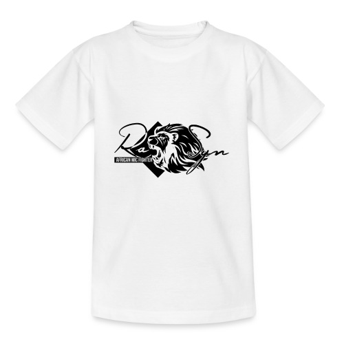 RaSyn Lion Black n White ® - Kinder T-Shirt