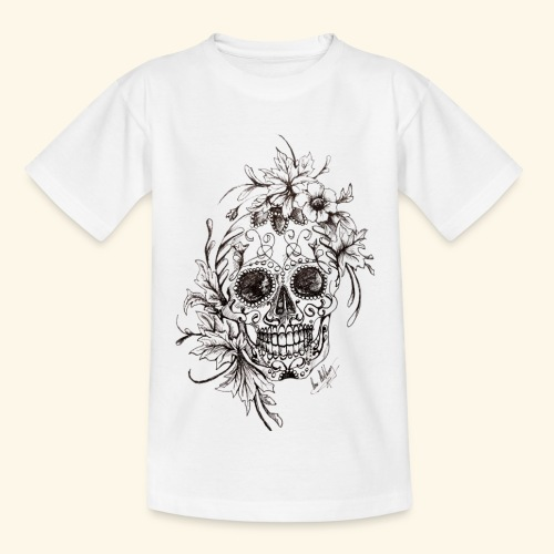 SkullDrawings - T-shirt barn