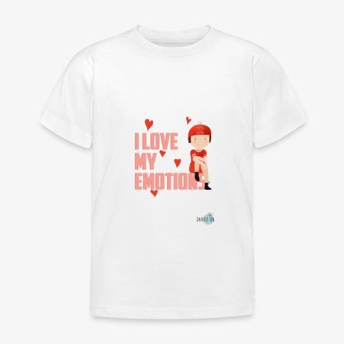 i love my emotions girl - Maglietta per bambini