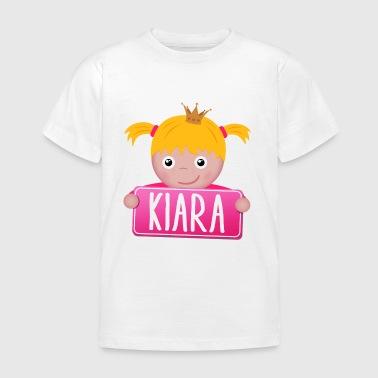 Kleine Prinzessin Kiara - Kinder T-Shirt