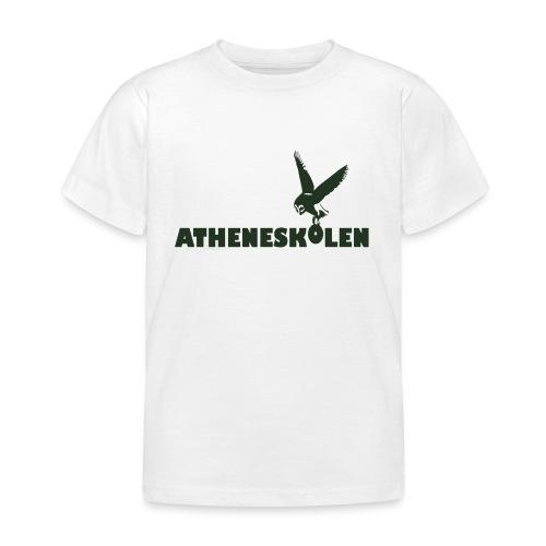 Mørkt logo - Børne-T-shirt