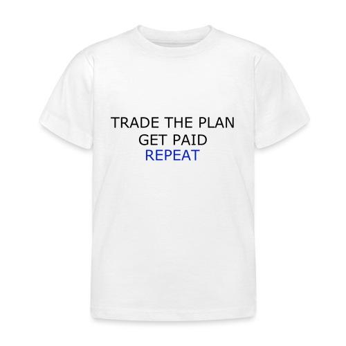 TRADETHEPLAN - T-shirt barn