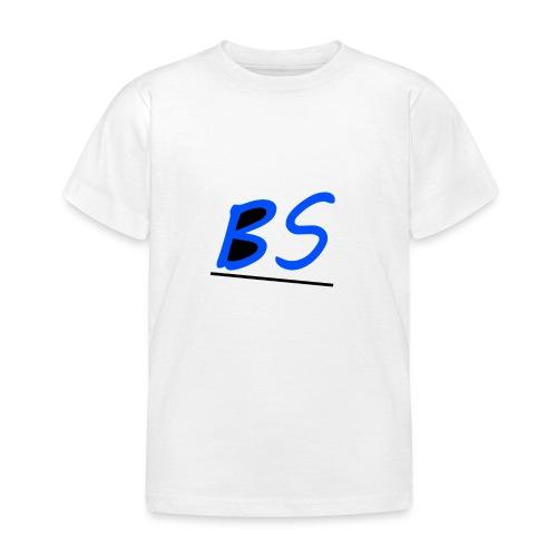 witte bs logo van youtuber Sven.B twitcher BSven. - Kinderen T-shirt