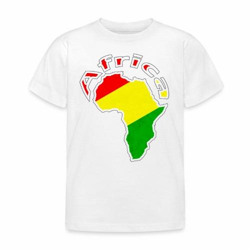 Afrika - rot gold grün - Kinder T-Shirt