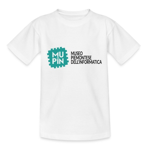Logo Mupin con scritta - Maglietta per bambini