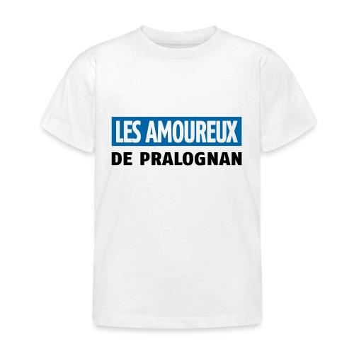 les amoureux de pralognan texte - T-shirt Enfant
