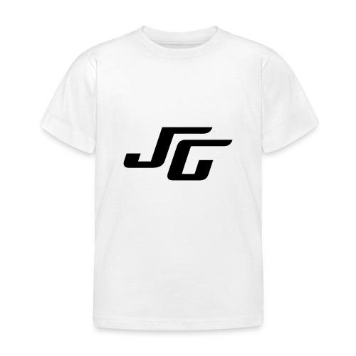 JG Logo schwarz - Kinder T-Shirt