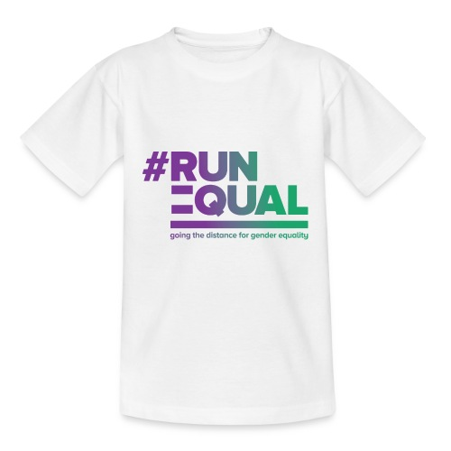 Gender Equality in Athletics #runequal - Kids' T-Shirt