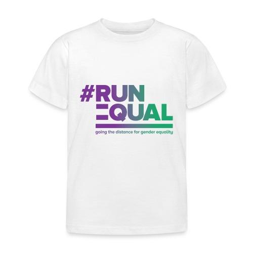 Gender Equality in Athletics #runequal - Kids' T-Shirt