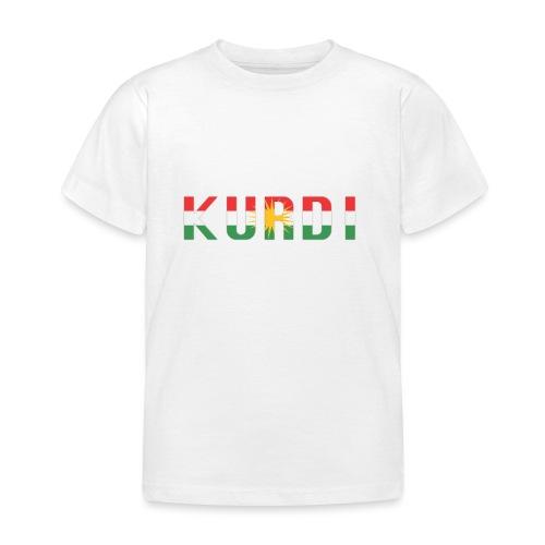 KURDI LOGO - Kinder T-Shirt