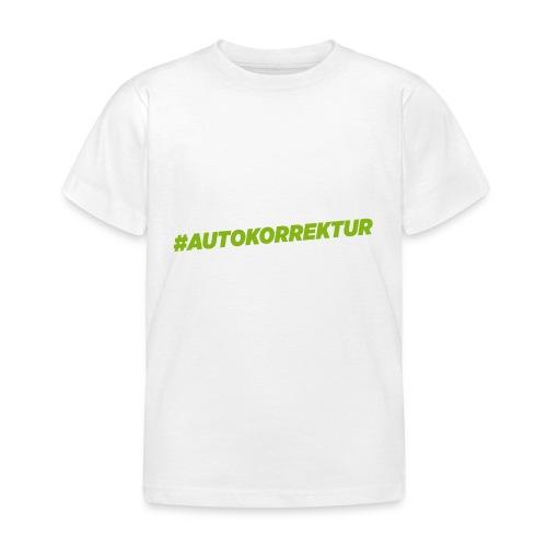 AUTOKORREKTUR - Kids' T-Shirt