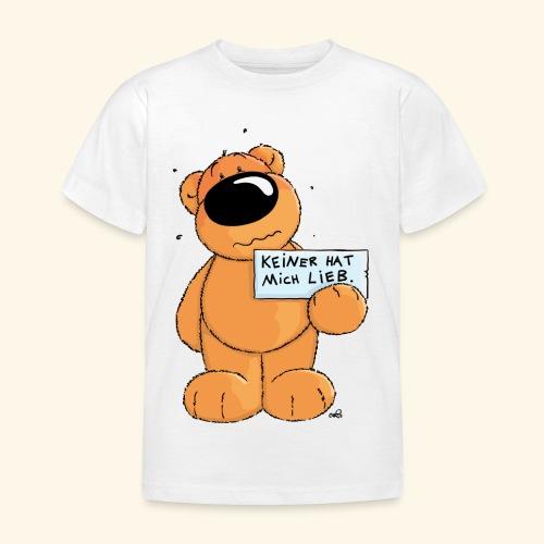 chris bears Keiner hat mich lieb - Kinder T-Shirt