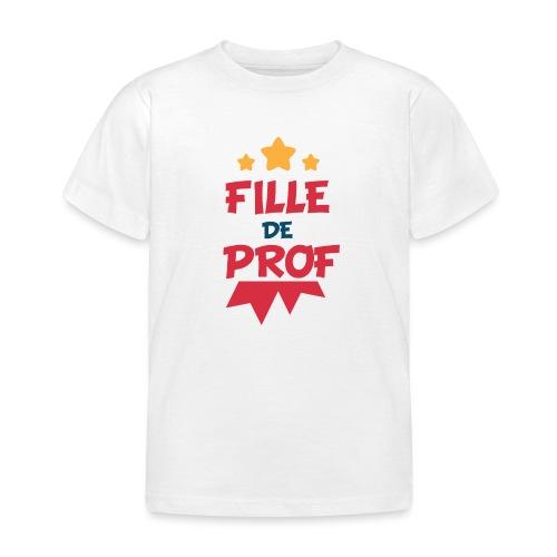 Fille de prof - T-shirt Enfant