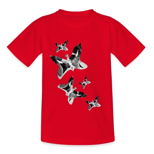 Schmetterlinge - Kinder T-Shirt