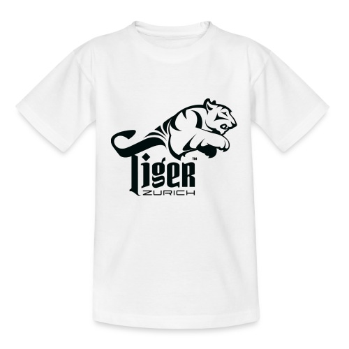 TIGER ZURICH digitaltransfer - Kinder T-Shirt