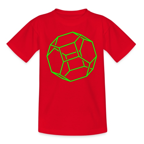 yellowibis fullerene1 vec - Kids' T-Shirt