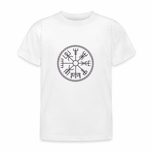 Vegvisir wayfinder viking compass - Lasten t-paita