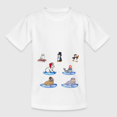 winter Animals - Kids' T-Shirt
