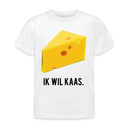 Ik wil kaas - Kinderen T-shirt