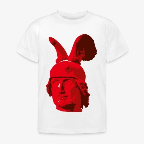 Kopf des Hermannsdenkmals - Kinder T-Shirt