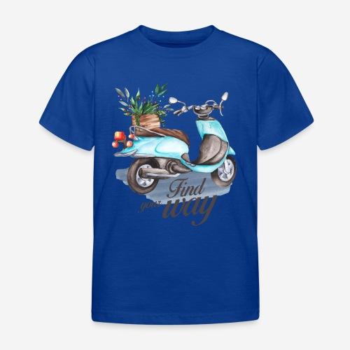 Finde deinen Weg im Leben - Kinder T-Shirt
