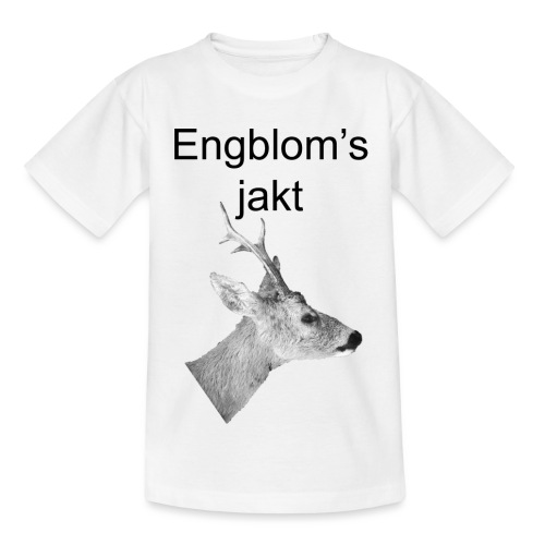 Officiell logo by Engbloms jakt - T-shirt barn