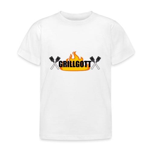 Grillgott Meister des Grillens - Kinder T-Shirt