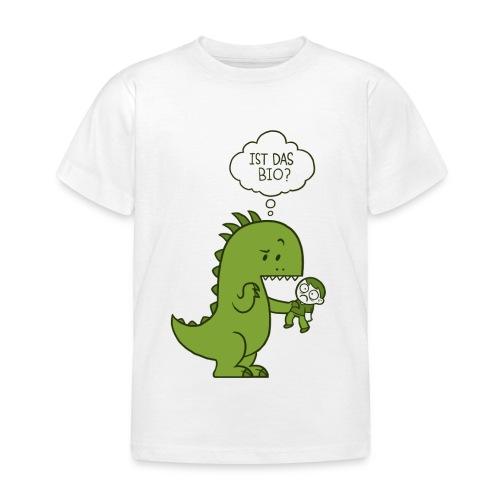Bio-Dinosaurier - Kinder T-Shirt