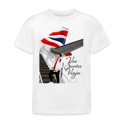 Vive sueña viaja by Viaja con Yoel - Camiseta niño