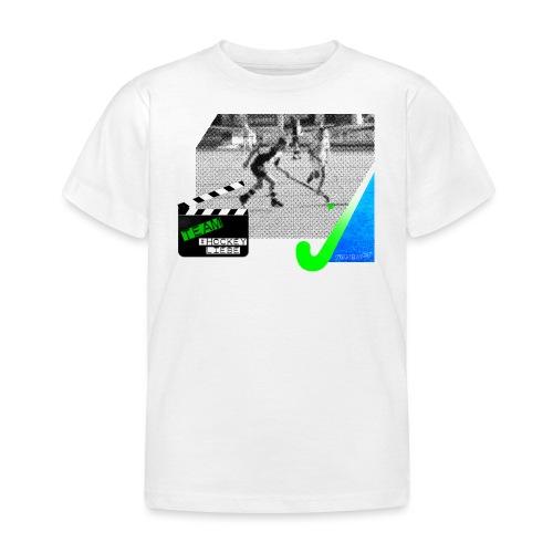 Team #Hockeyliebe weiß - Kinder T-Shirt