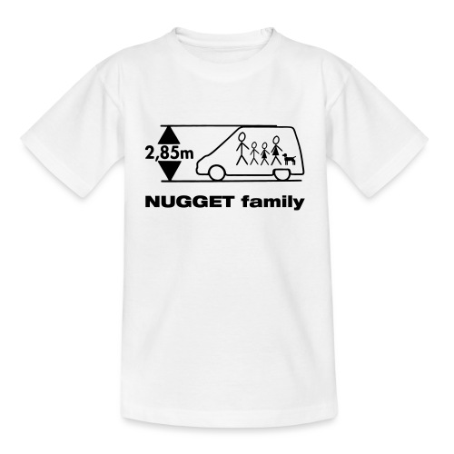 nugget family4 - Kinder T-Shirt