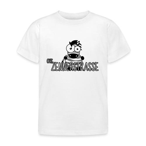 Zebra SW weiss - Kinder T-Shirt