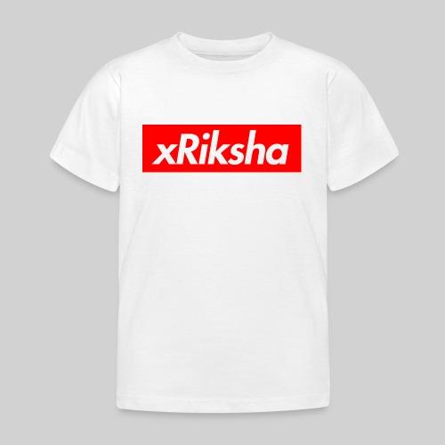 xRiksha - Box logo - Lasten t-paita