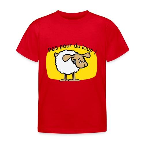 pas peur du loup - T-shirt Enfant