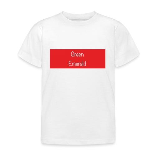 Green Emerald suprememe - Kids' T-Shirt
