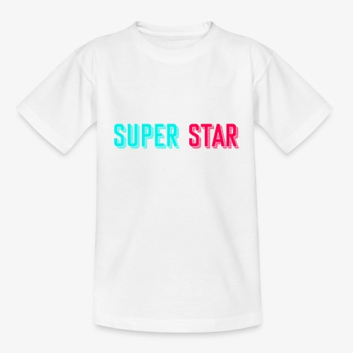 Super Star - Kinderen T-shirt