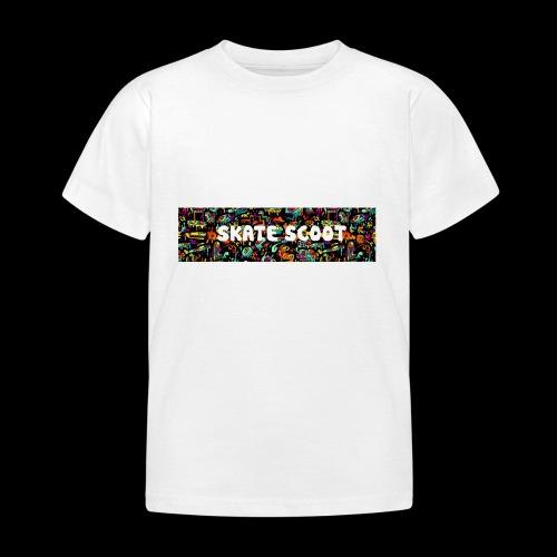 funny logo - Kinderen T-shirt