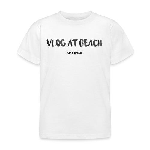 vlog at beach - Kinder T-Shirt